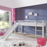 Alex Halfhoogslaper Basic + Glijbaan – kleur: Wit – Beds and More