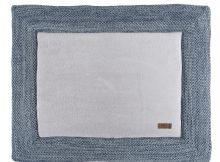 Baby's Only Boxkleed 75 x 95 cm River Jeans/Grijs Melee