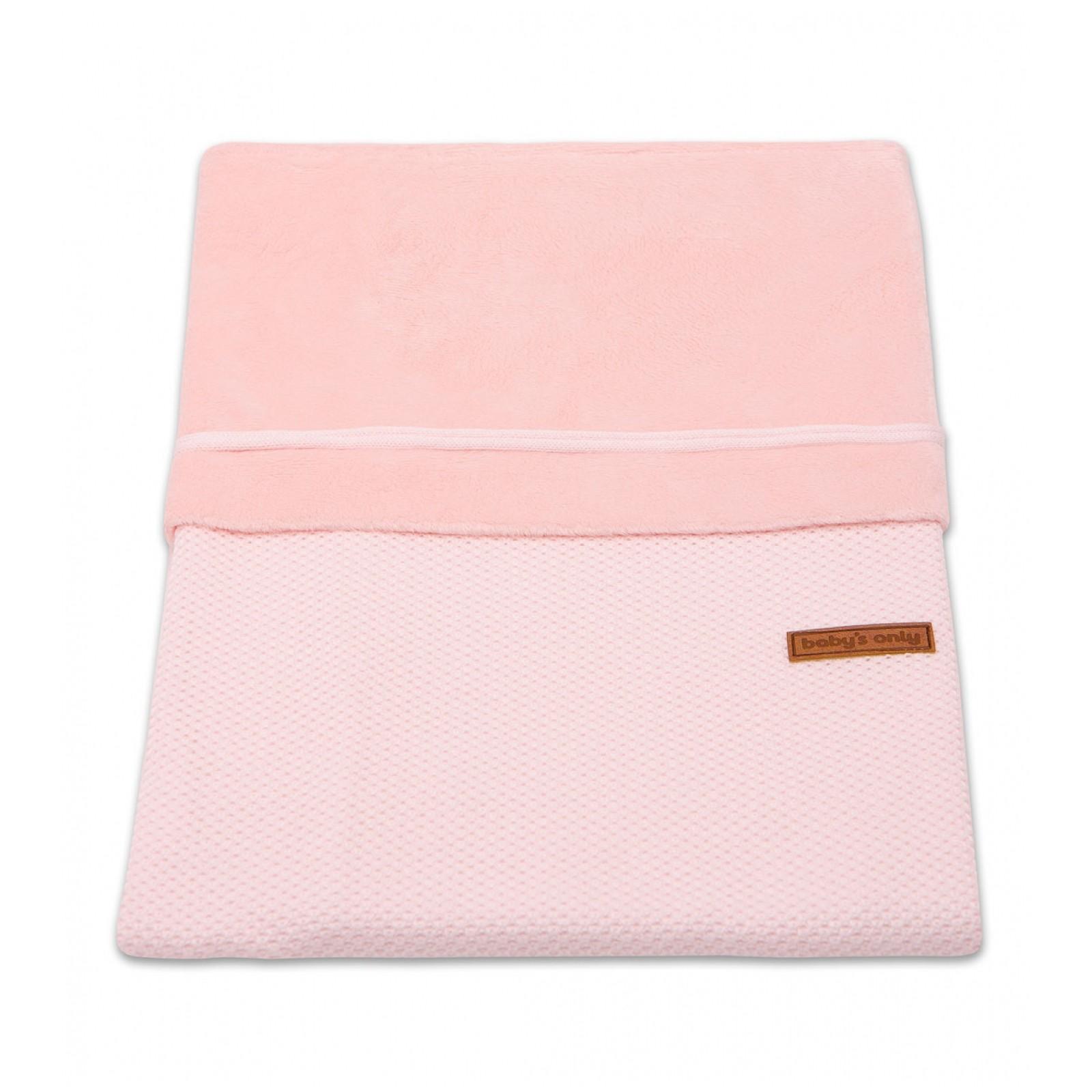 Baby's Only Dekbedovertrek Ledikant Soft Classic Roze - kleur: Roze - Babys Only