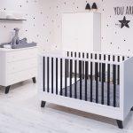 Babykamer Zara 2-delig – kleur: Wit – Born Lucky