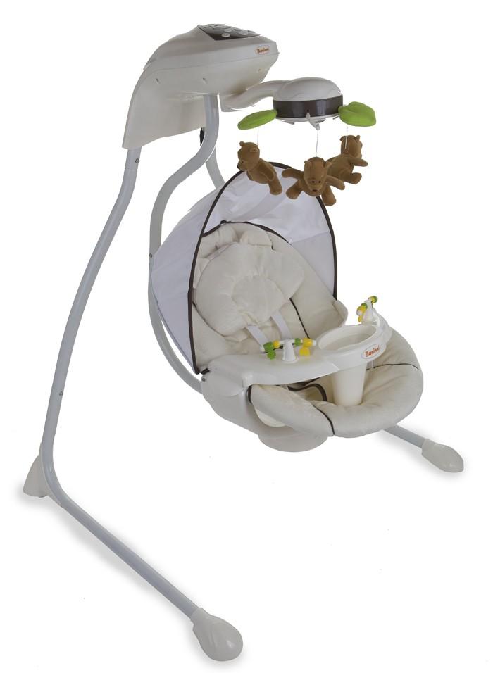 Baninni babyswing dodoli wit beige bt5420038780005 - Babykamer beige en wit ...
