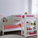 Bennie Hoekstapelbed Wit – kleur: Wit – Beds and More