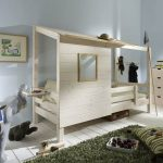 Boomhut Laagslaper – kleur: Wit – Beds and More