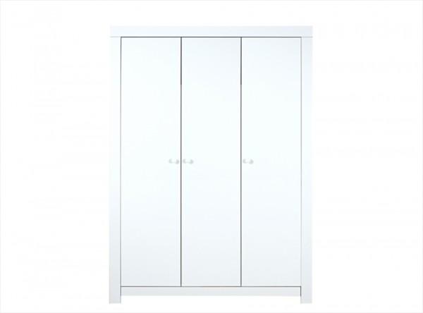 Bopita Babyflex 3-Deurs Kledingkast Medium White - kleur: Wit - Bopita