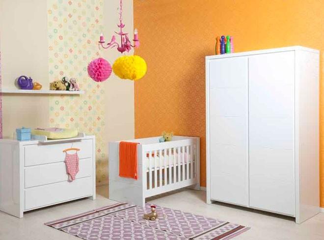 Bopita Babykamer Camille - kleur: Wit - Bopita