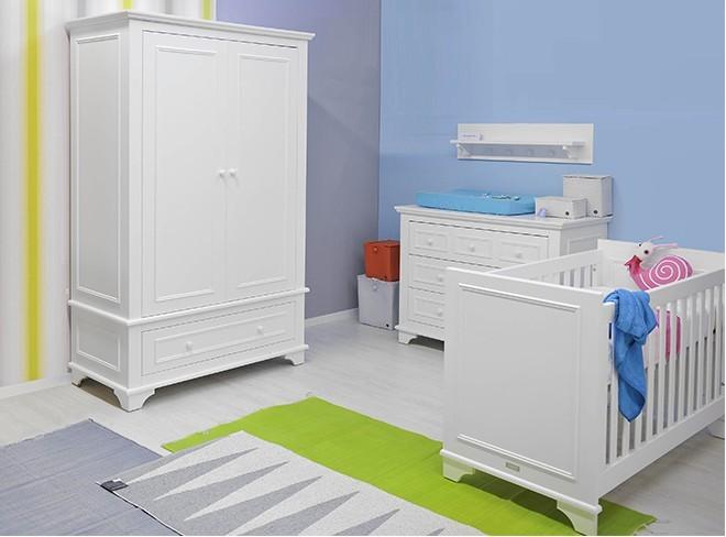 Bopita Babykamer Charlotte - kleur: Wit - Bopita