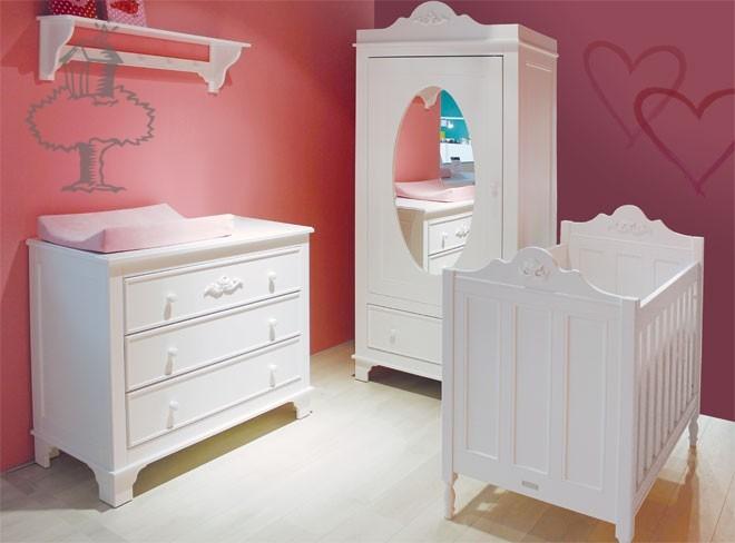 Bopita Babykamer Romantic - kleur: Wit - Bopita