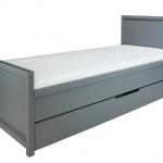Bopita Bed 90×200 Napoli Pebble Grey – kleur: Grijs – Bopita