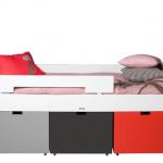 Bopita Compactbed Timo 90×200 Wit (exclusief bakken) – kleur: Wit – Bopita