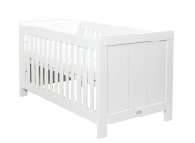 Bopita Cotbed Basic Wood White Wash