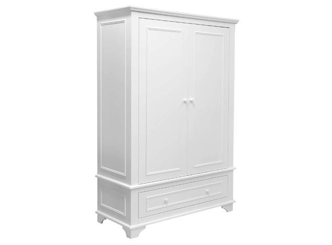 Bopita Kast 2-deurs XL Charlotte - kleur: Wit - Bopita