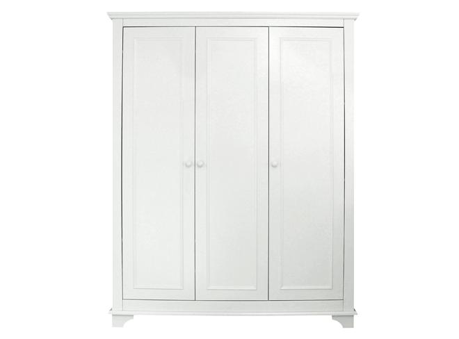Bopita Kast 3-deurs Charlotte - kleur: Wit - Bopita