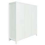 Bopita Kast 3-deurs Napoli White – kleur: Wit – Bopita