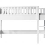 Bopita Nordic Halfhoogslaper 90×200 cm Rechte Trap – kleur: Wit – Bopita