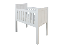 Bopita Wieg Basic Wood White Wash