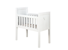 Bopita Wieg Hart Basic Wood White Wash
