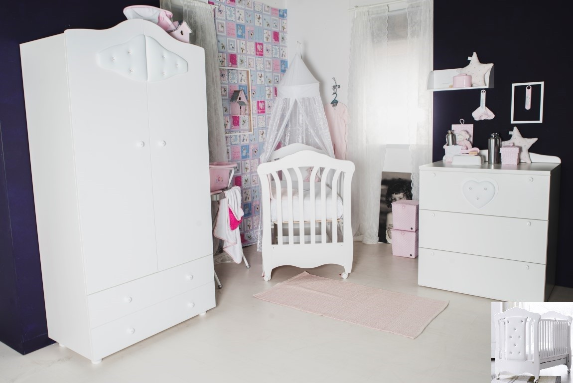 Born Lucky Babykamer Mimi - kleur: Wit - Born Lucky