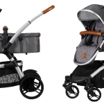 Born Lucky Combi Kinderwagen Midnight Black – kleur: Zwart – Born Lucky