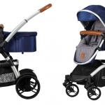 Born Lucky Combi Kinderwagen Starlight Blue – kleur: Blauw – Born Lucky