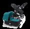 Bugaboo Buffalo Zwart frame- Basis Zwart - Petrol Blauw