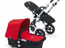 Bugaboo Cameleon3+ Alu / Black - Red