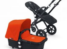 Bugaboo Cameleon3+ Black / Black - Orange