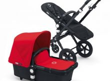 Bugaboo Cameleon3+ Black / Black - Red