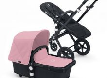 Bugaboo Cameleon3+ Black / Black - Soft Pink