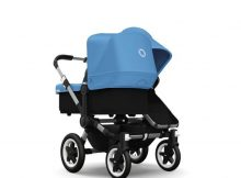 Bugaboo Donkey+ Duo Alu - Ice Blue