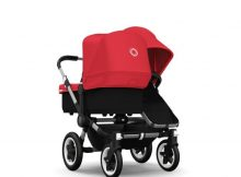 Bugaboo Donkey+ Duo Alu - Red