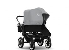 Bugaboo Donkey+ Duo Black - Grey Melange
