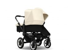 Bugaboo Donkey+ Duo Black - Off White