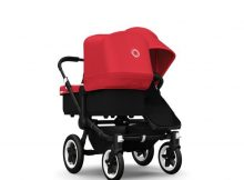 Bugaboo Donkey+ Duo Black - Red