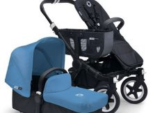Bugaboo Donkey+ Mono Black - Ice Blue