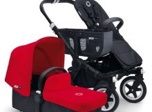 Bugaboo Donkey+ Mono Black - Red