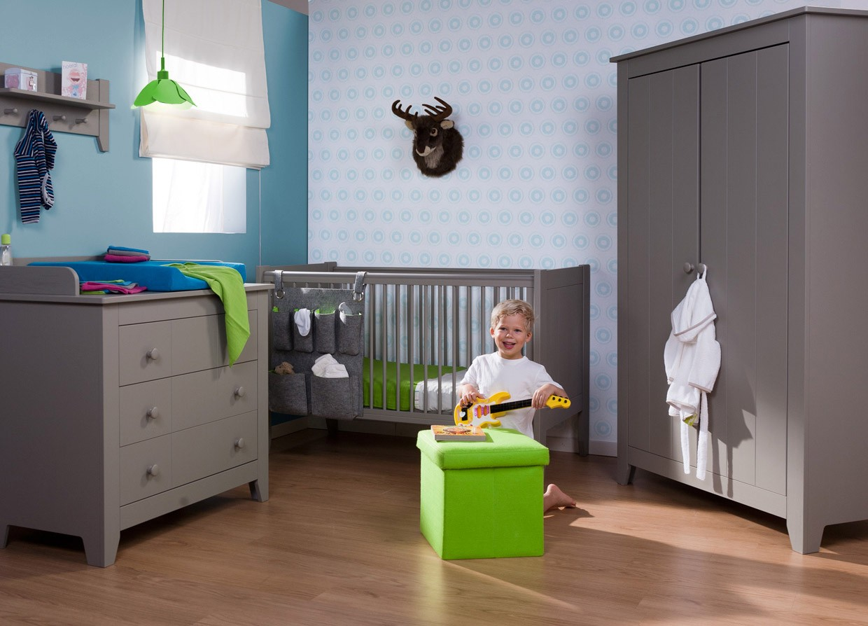 Childwood babykamer flemish stone grey 2 delig btb120flsg ko3flsg - Afbeelding babykamer ...