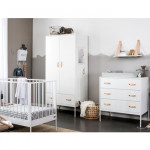 Coming Kids Babykamer Bliss White 2-delig – kleur: Wit – Coming Kids