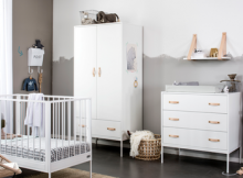 Coming Kids Babykamer Bliss White 2-delig