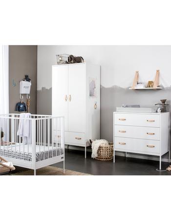 Coming Kids Babykamer Bliss White - kleur: Wit - Coming Kids