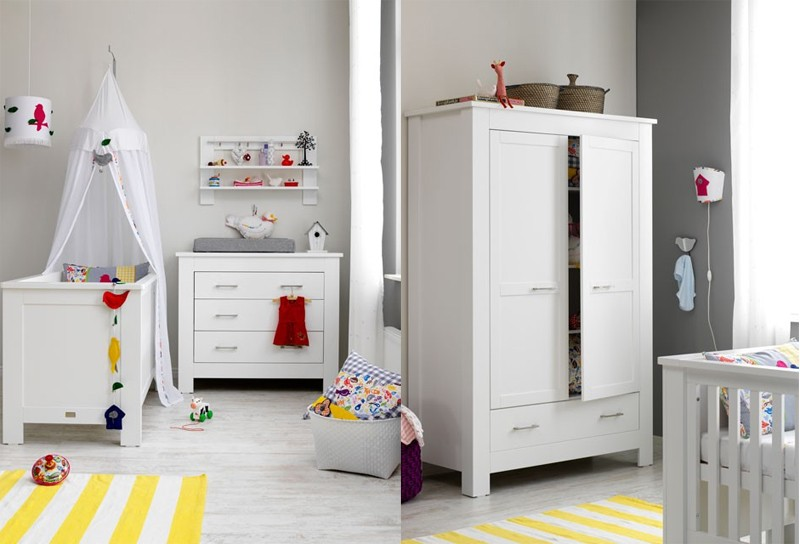 Coming Kids Babykamer New Basic - kleur: Wit - Coming Kids