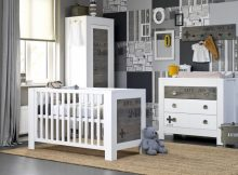 Coming Kids Babykamer Stapelgoed Urban Wit 2-delig