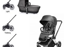 Cybex Priam Lux PACK Manhattan Grey
