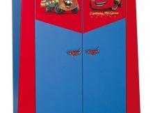 Disney Cars 2-deurs Kledingkast