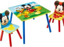 Disney Mickey Mouse Tafel met Stoeltjes