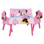 Disney Minnie Mouse Tafel met Stoeltjes – kleur: Roze – Beds and More