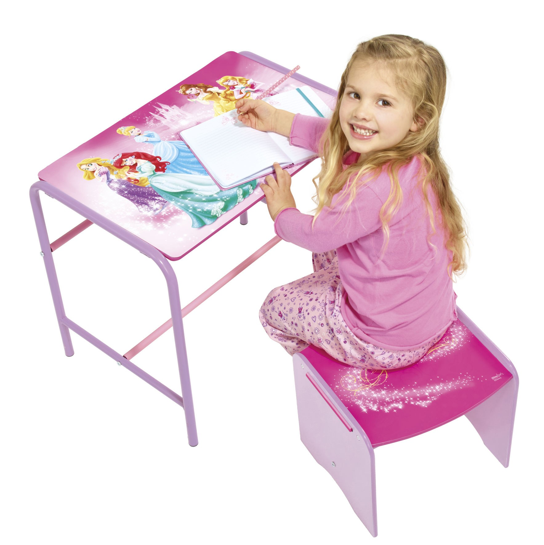 disney princess bureau met krukje babykamer winkel. Black Bedroom Furniture Sets. Home Design Ideas