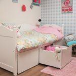 Emma Bedbank met Speelgoedladeset – kleur: Wit – Beds and More