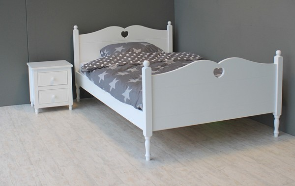 Emma Twijfelaar - kleur: Wit - Beds and More