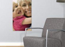 Foto op hout - paneel (40x80cm)
