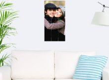 Foto op hout - planken (30x60 cm)